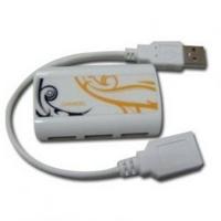 ХЪБ USB CANYON CNR-USBHUB7B yellow